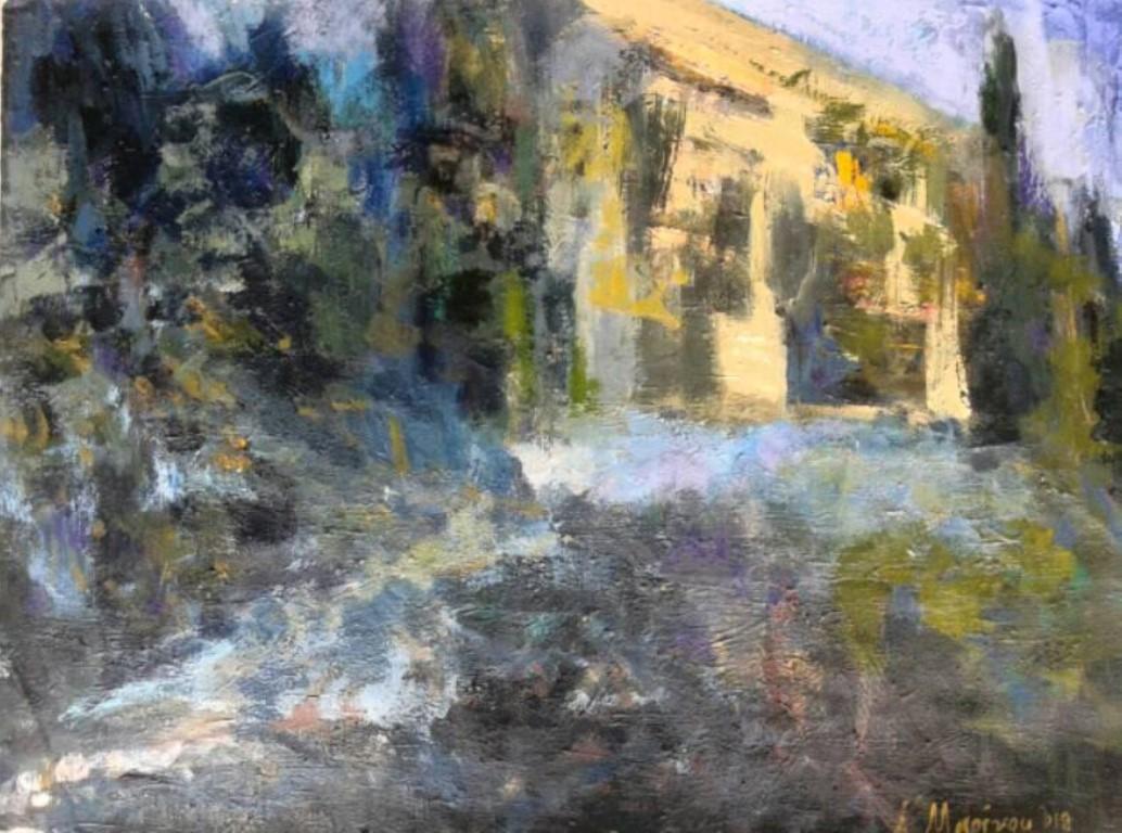 Μαρίνου Αθηνά, La tristesse, 50x70cm, Ακρυλικά σε χαρτί