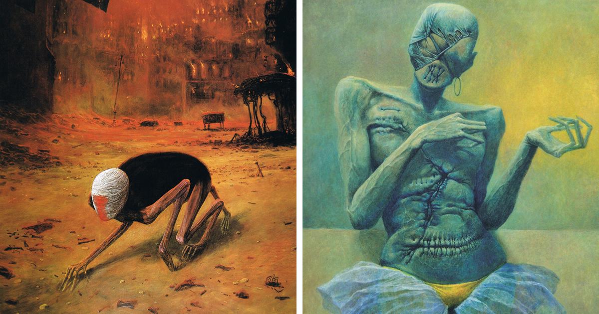 gothic-dystopian-postapocalyptic-surreal-paintings-zdzislaw-beksinski-fb