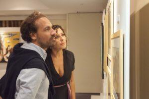 ο βραβευμένος Ιταλός σκηνοθέτης Dario Albertini και η πρωταγωνίστρια Francesca Antonelli